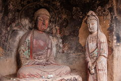 Tianshui Maiji Mountain Buddha Cave Chilbulbong Royalty Free Stock Photo