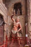 Tianshui Maiji Mountain Diamond seven temples statues Stock Image