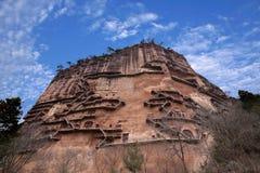 Tianshui Maijishan monasteries and caves Stock Photos
