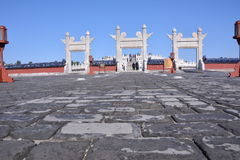 Tiantan gate Royalty Free Stock Photos