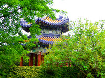 Tiantan park Pavilion Royalty Free Stock Photos