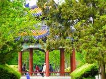 Tiantan park Pavilion Stock Photography