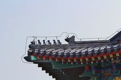 Tiantan - Temple of Heaven, Beijing Royalty Free Stock Images
