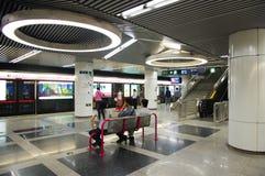 Tiantandongmen Station of Beijing Stock Images