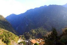Tianxiang - ein kleines Dorf auf Formosa-Insel lizenzfreie stockbilder