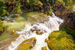 Tianxingqiao area scenery of Huangguoshu waterfalls. Huangguoshu waterfalls are China's largest waterfalls. It is located in the Anshun, Guizhou, China Stock Images