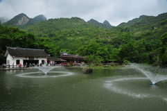 Tianxingqiao Scenic Area Royalty Free Stock Images