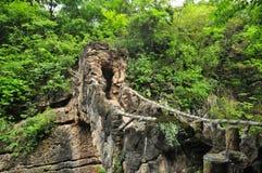 Tianxingqiao Scenic Area Stock Images