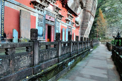 Tianxu Taoist Temple Stock Image