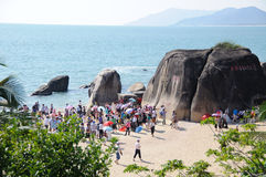 Tianya Haijiao Stock Photo