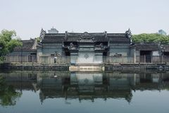 Tianyi paviljong royaltyfri bild