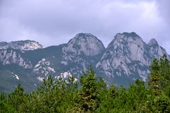 Tianzhu mountain in AnHui, China Stock Photos