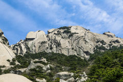 Tianzhu Mountain in Anhui Province hill scenery Royalty Free Stock Image
