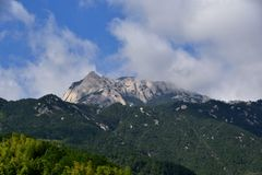 Tianzhu mountain under blue sky, AnHui province, China Stock Images