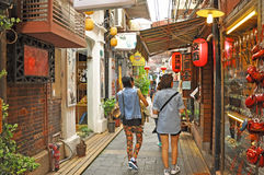 Tianzifang 免版税库存图片