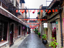 Tianzifang alley Stock Photography