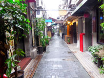 Tianzifang alley Royalty Free Stock Images