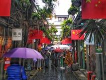 Tianzifangstraat royalty-vrije stock fotografie