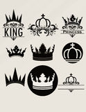 Tiara. Created in Illustrator. This image for design logo or ohter illustration. Have a corel Stock Images