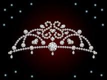 Tiara. This graphic is diamond tiara. Illustration Stock Photos