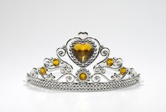 Tiara. Photo of a Tiara With Jewels - Crown - Beauty Related Stock Image