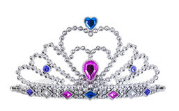 Tiara. Isolated on white background Royalty Free Stock Photography