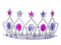 Tiara. Isolated on white background Stock Images