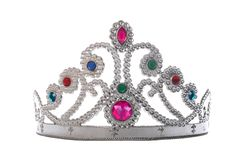 Tiara. Isolated on white background Stock Photo