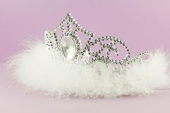 Tiara crown. Tiara With Jewels - Crown - Beauty Royalty Free Stock Photo