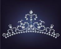 Tiara crown women's wedding Stock Image