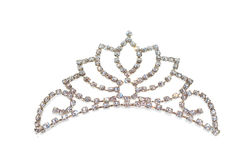 Tiara or diadem or crown isolated Royalty Free Stock Image