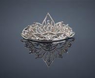 Tiara or diadem with reflection Stock Photo