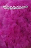 Tiara en rosa Foto de archivo libre de regalías