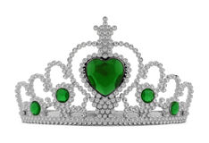 Tiara Green Royalty Free Stock Images