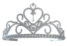 Tiara. Isolated on white background - 3d render royalty free illustration