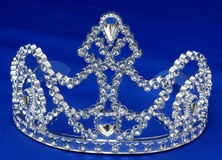 Tiara of kroon Royalty-vrije Stock Foto's