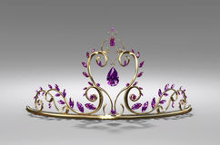 Tiara for the Prom Royalty Free Stock Images