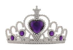 Tiara Purple Royalty Free Stock Image