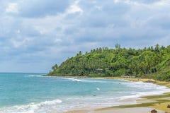 Tibau Do Sul Beach royalty-vrije stock foto