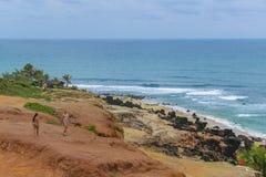 Tibau hace la playa el Brasil de Sul Fotos de archivo libres de regalías