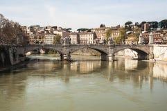 Tiber-Fluss Lizenzfreie Stockfotos