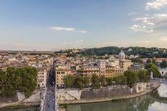 Tiber-Fluss in Rom - Italien Stockfotografie