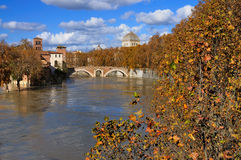 Tiber Island, Rome Royalty Free Stock Photography