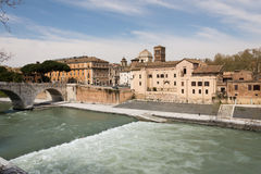 Tiber Island Royalty Free Stock Photo