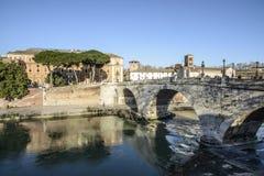 Tiber Island rome Italy europe Royalty Free Stock Image