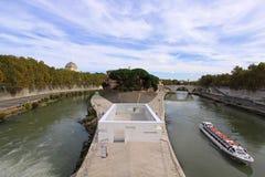 Tiber Island Stock Image
