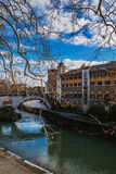 Tiber Island in Rome, Italy Stock Photography