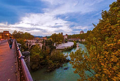 Tiber Island, Rome Royalty Free Stock Photo