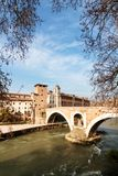 Tiber Island Royalty Free Stock Photography