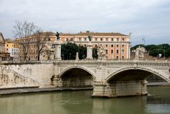 Tiber River Royalty Free Stock Photography